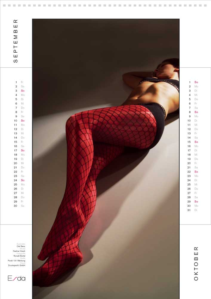 Kalender ESDA September/Oktober