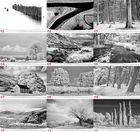 Kalender: Infrarot Landschaften 2014