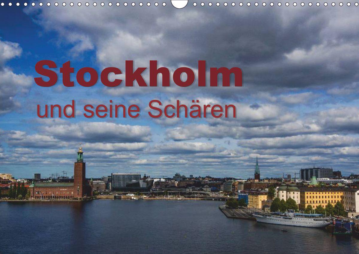 """Kalender """"Stockholm und seine Schären"""""""