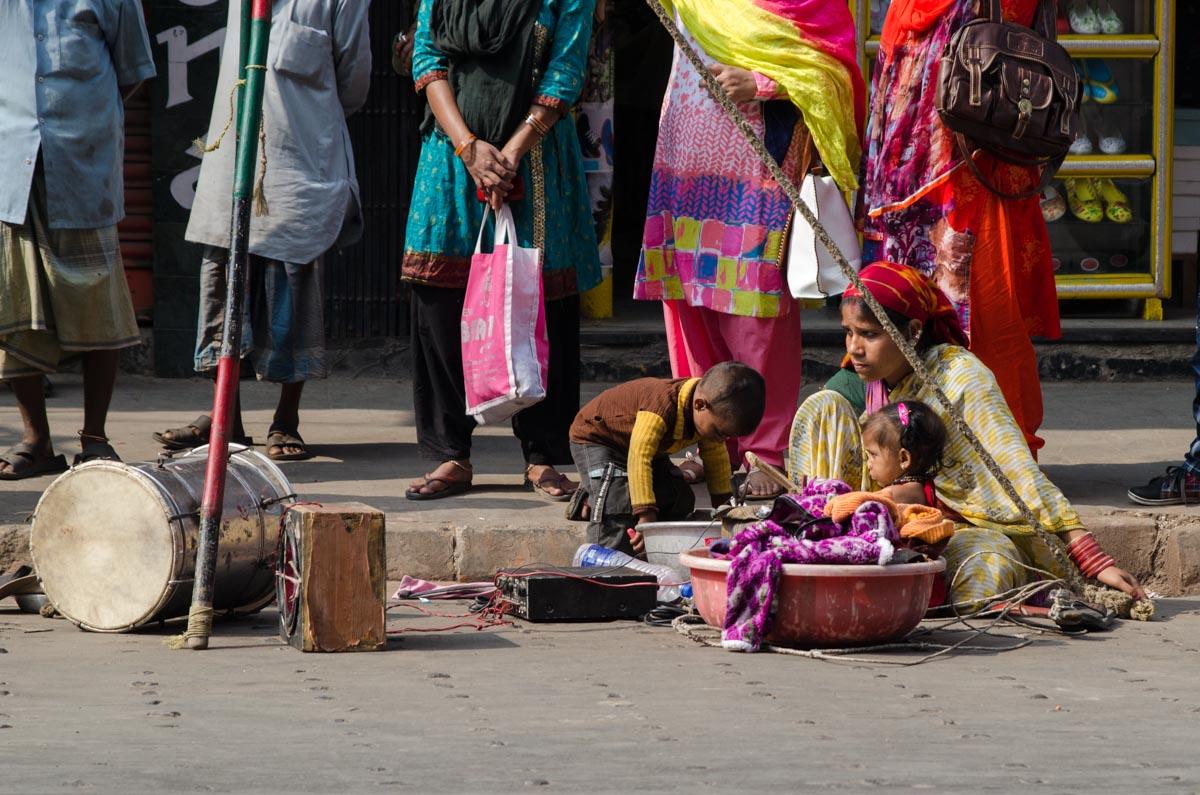 Kalkutta - Zirkusnachwuchs