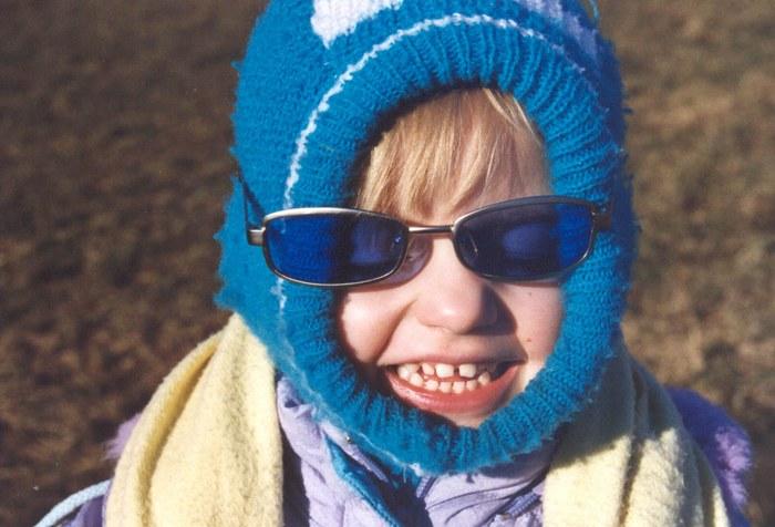 kalt ist es zwar - aber ne Brille muss sein ...