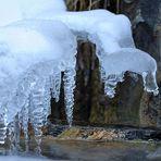 Kalt + Plätsch = Eisskulptur