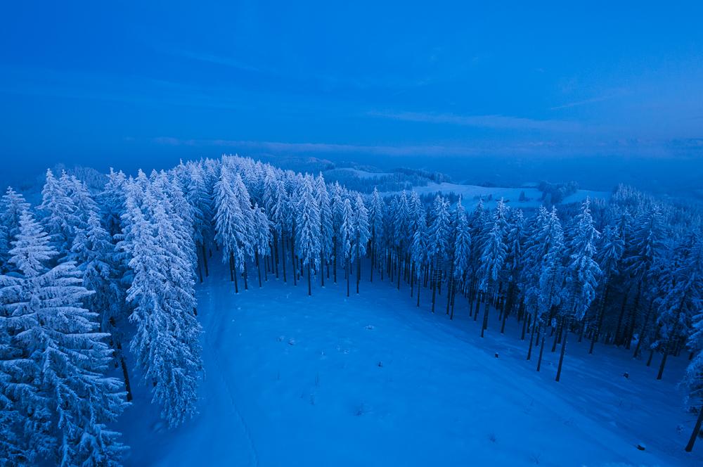 Kalte Aussicht ...