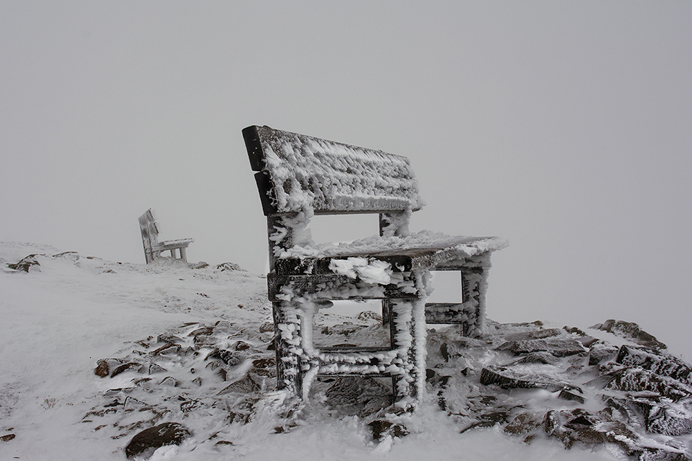 ... kalte Rast ... auf dem Astjoch - Südtirol ...