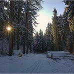Kalter Dezember Morgen