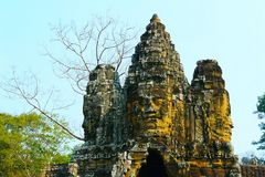 Kambodscha - Angkor - Kopf einesTempels