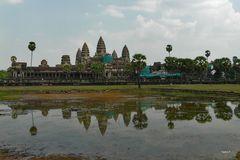 Kambodscha - Angkor - Tempelanlage am See - 2011