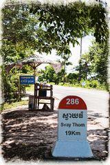 Kambodscha, Nationalstraße 6