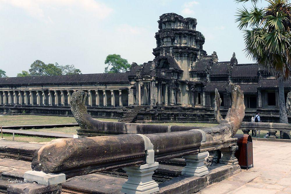 Kambodscha - Tempel in Angkor Wat