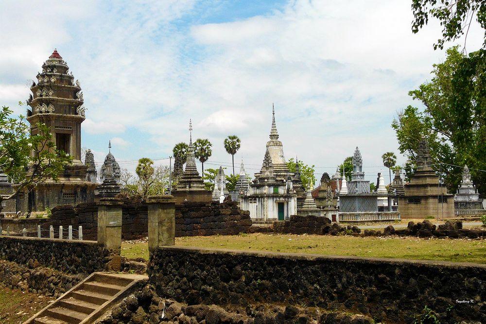 Kambodscha - Tempelanlage von Kampong-Cham