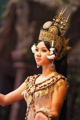 Kambodschanische Apsara Tänzerin
