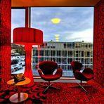 Kameha Grand - Winterfenster