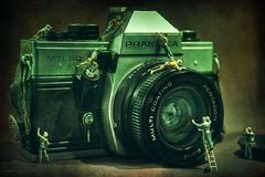 Kamerapflege...