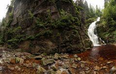 Kamienczyk Waterfall in Karkonosze