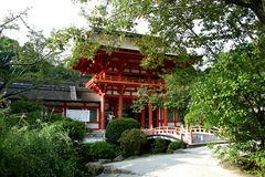 kamigamo-shrine in kyoto