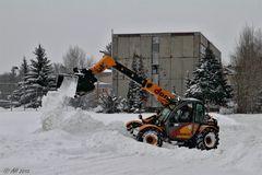Kampf den Schneemassen