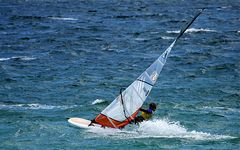 Kampf mit Wind und Wellen