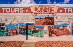 Kanab Tourist Office, Utah, USA