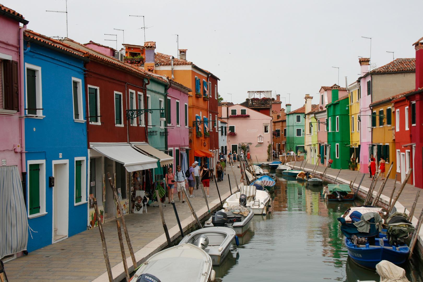 Kanal in Burano