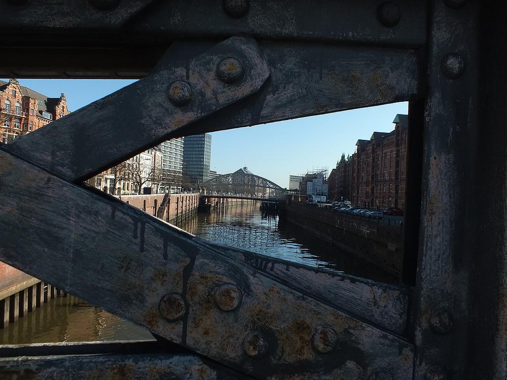 Kanal in der Speicherstadt