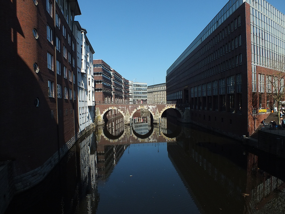Kanal in Hamburg