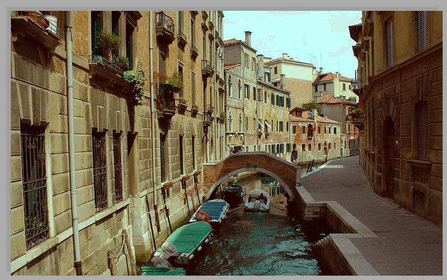 Kanal in Venedig 2