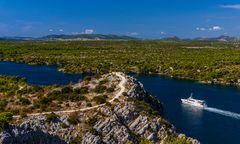 Kanal Sveti Ante, Sibenik, Dalmatien, Kroatien