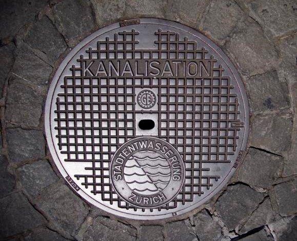 Kanaldeckel 3 - Zürich (CH)