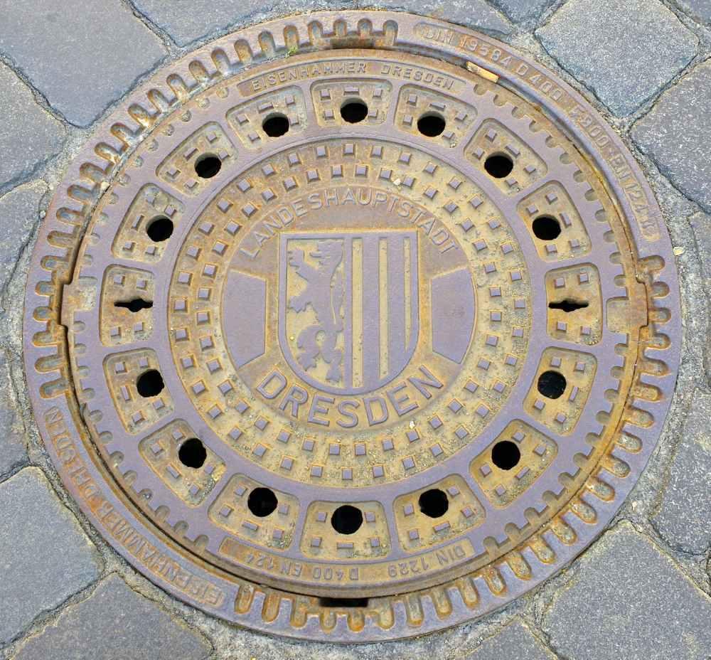 Kanaldeckel Dresden
