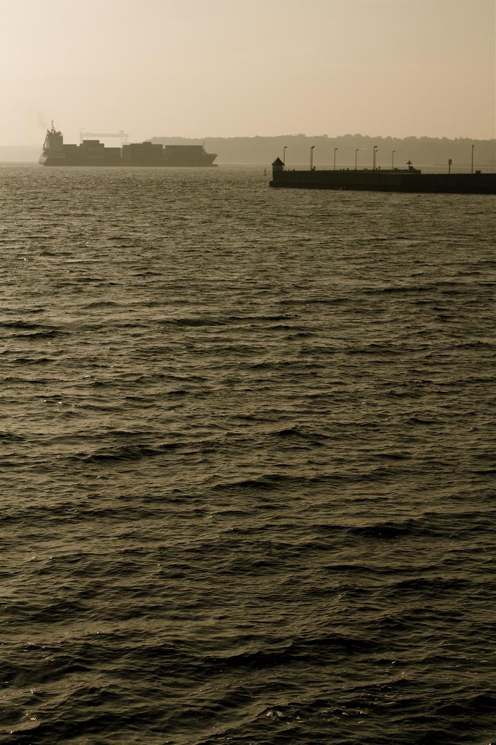 Kanaleinfahrt