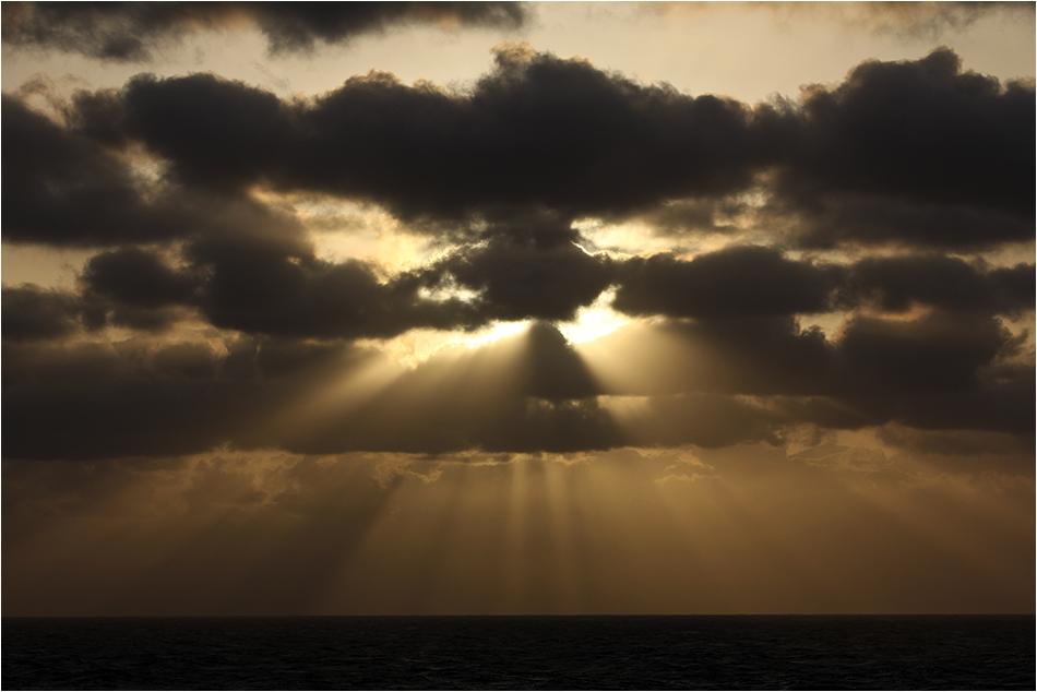Kanarischer Sonnenuntergang
