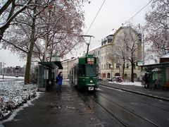 Kannenfeldplatz im Winter