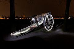 Kanone illuminiert