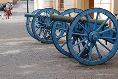 Kanonen in Schloß Dottningholm