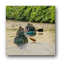 """Kanuten sollen die Wupper nur noch mit einem """"Führerschein"""" befahren."""