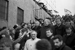Kanzler Kohl nutzte die Euphorie der Wendezeit