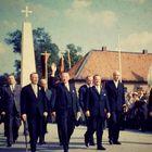 Kanzler Konrad Adenauer auf dem Katholikentag 1962 in Hannover