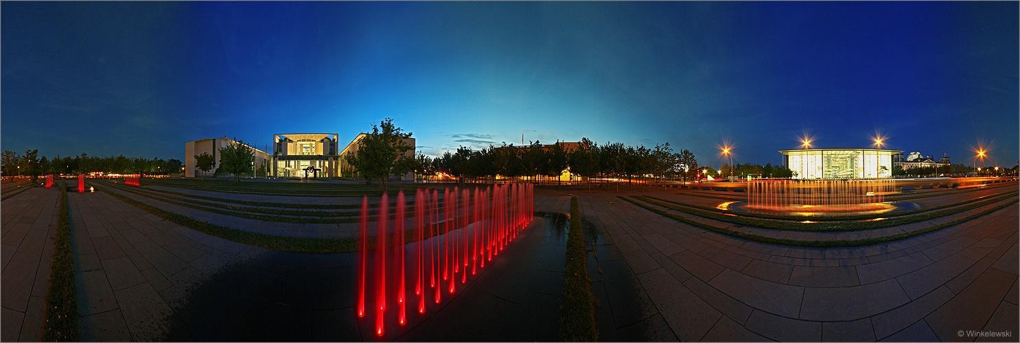 Kanzleramt Panorama (II)