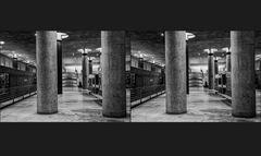 Kanzlerbahnhof  menschenleer (3D)