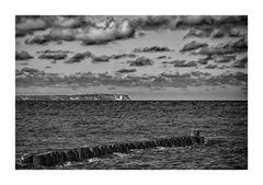 Kap Arkona in Sicht