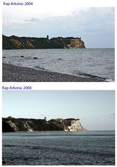 Kap Arkona: Vorher und Nachher