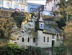 Kapelle an der Wand
