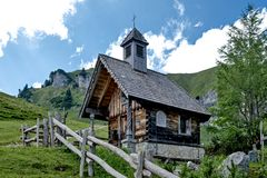 Kapelle bei der Stie-Alm  am Brauneck