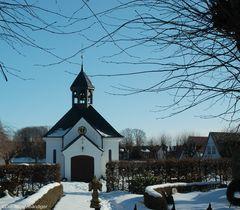 Kapelle des Friedhofes der Holmer Beliebung in Schleswig