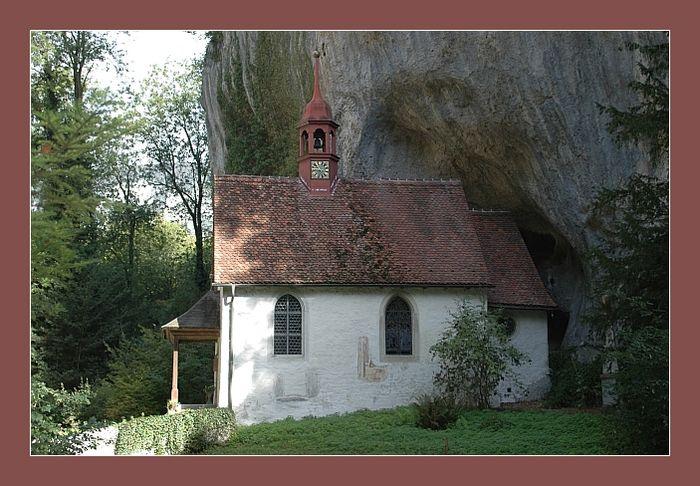 Kapelle in der St. Verenaschlucht