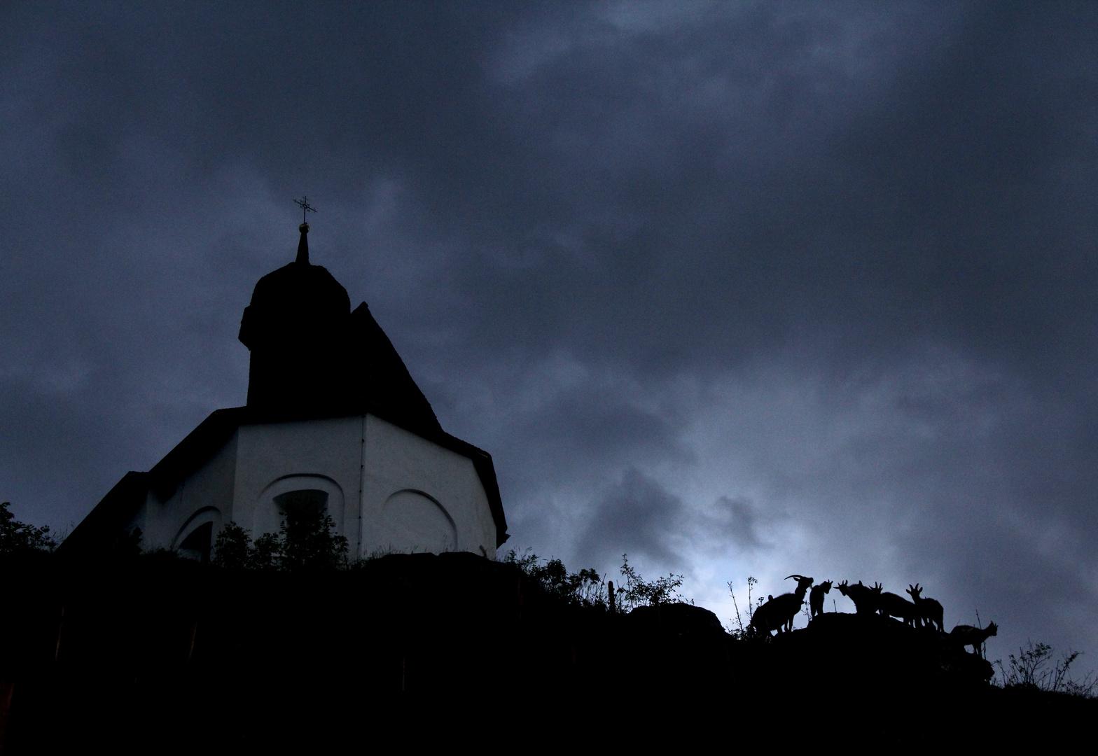 Kapelle in Schlans