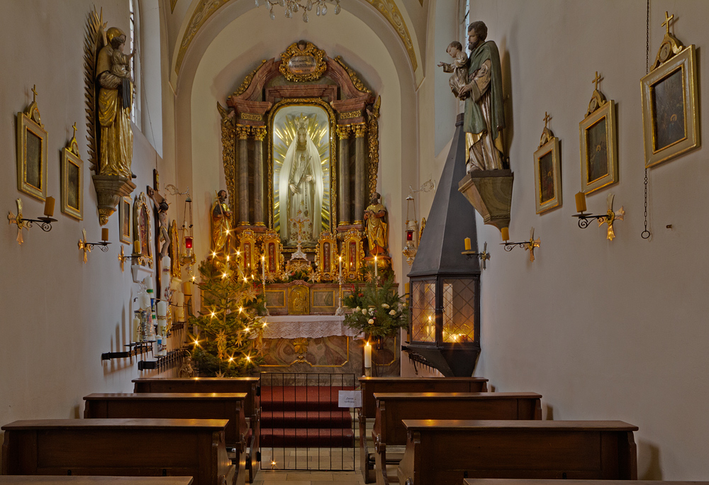 Kapelle Maria Läng - Regensburg Foto & Bild   architektur
