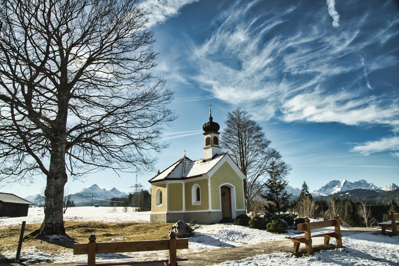 Kapelle Maria Rast (Nähe Krün)