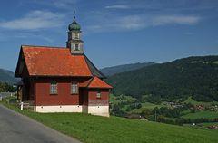 Kapelle mit Blick
