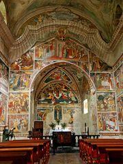 Kapelle N.D. des Fontaines Innenraum